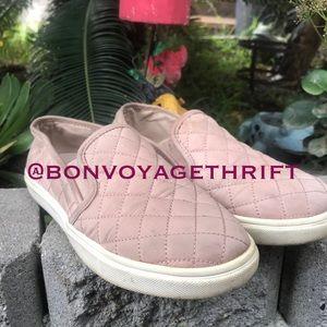Pink Steve Madden Slip On Loafers Shoes 7